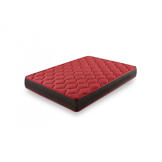 CT94- Colchón Viscoelástico Extra Confort, Reversible (Verano-Invierno) con Tejido 3D y Aloe Vera + Almohada Viscoelastica 100%