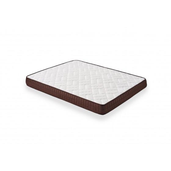 Cama Completa - Colchón Viscobrown Doble Capa Viscosoft, Altura 15 cm + Somier Articulado + Almohada de Fibra