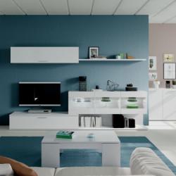 Mueble de salón Luces Leds