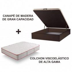 CANAPE MADERA + BAMBOO 3D