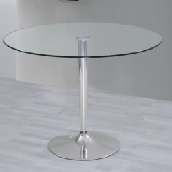 PRÁCTICO Mesa de comedor 90x140-190 Extenisble