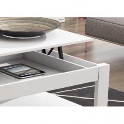 Mesa de centro elevable High Quality blanca
